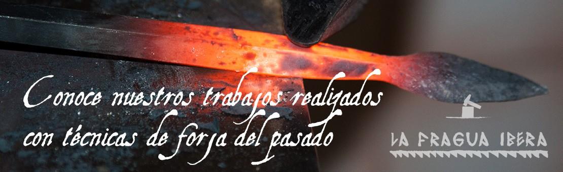 Productos de forja realizados de forma artesanal